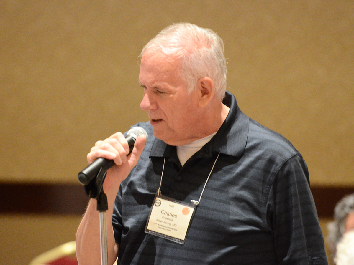 Charlie Crawford speaking at 2013 ACB Convention