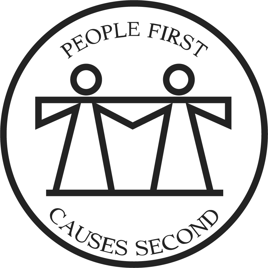 "ACB of Nebraska logo with slogan ""People First Causes Second"""